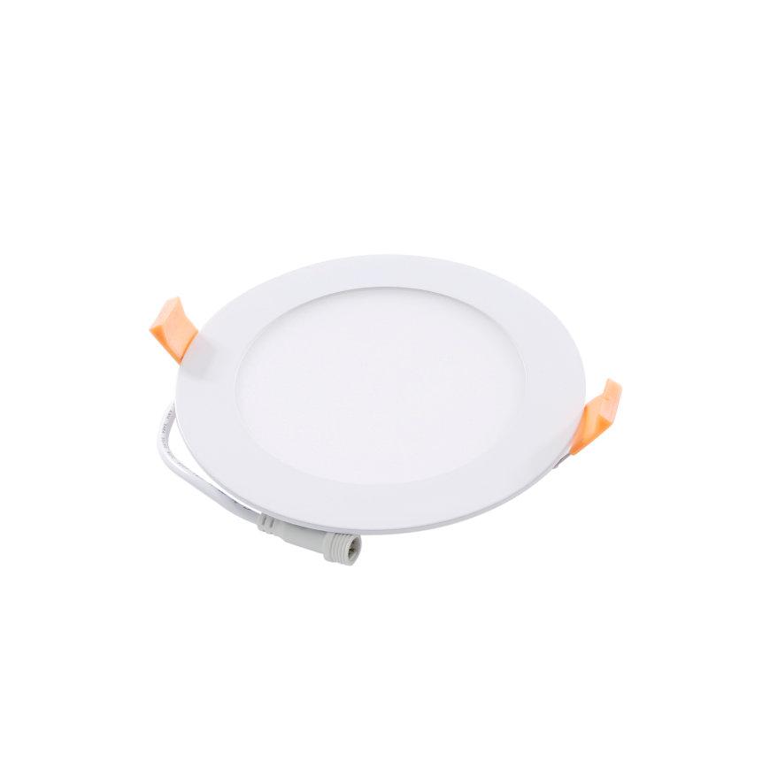 Adurolight® Premium Quality Line HCL led slim downlight, Ø 145 mm, 8 W, non flicker