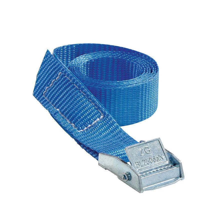 Promat spanband met klemgesp, b = 25 mm, max. trekkracht 250 kg, l = 1 m, verpakking à 5 st