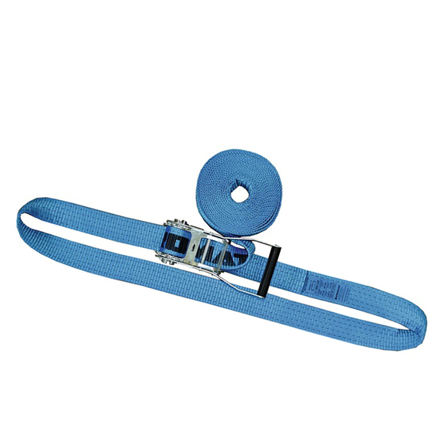 Promat spanband met ratelgesp, b = 50 mm, max. trekkracht 4000 kg, l = 5 m