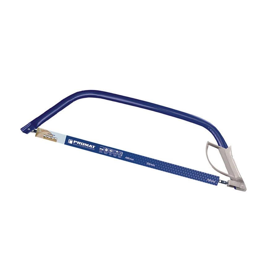 Promat zaagbeugel, lengte blad 760 mm, geharde tanden, met spanhendel en handbescherming