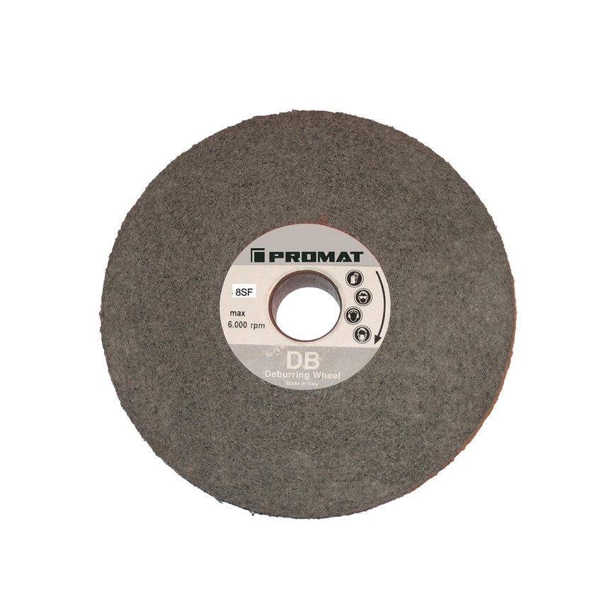 Promat vliescompactschijf, vezelvlies, d = 152,4 mm, b = 25,4 mm, gat 25,4 mm, 7 S fijn