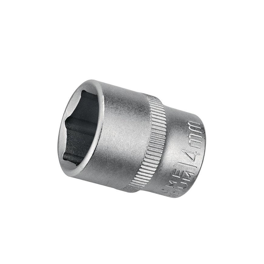 """Promat bitdop, zeskant, chroom-vanadiumstaal, aansluiting ¼"""", l = 25 mm, sleutelmaat 6 mm"""