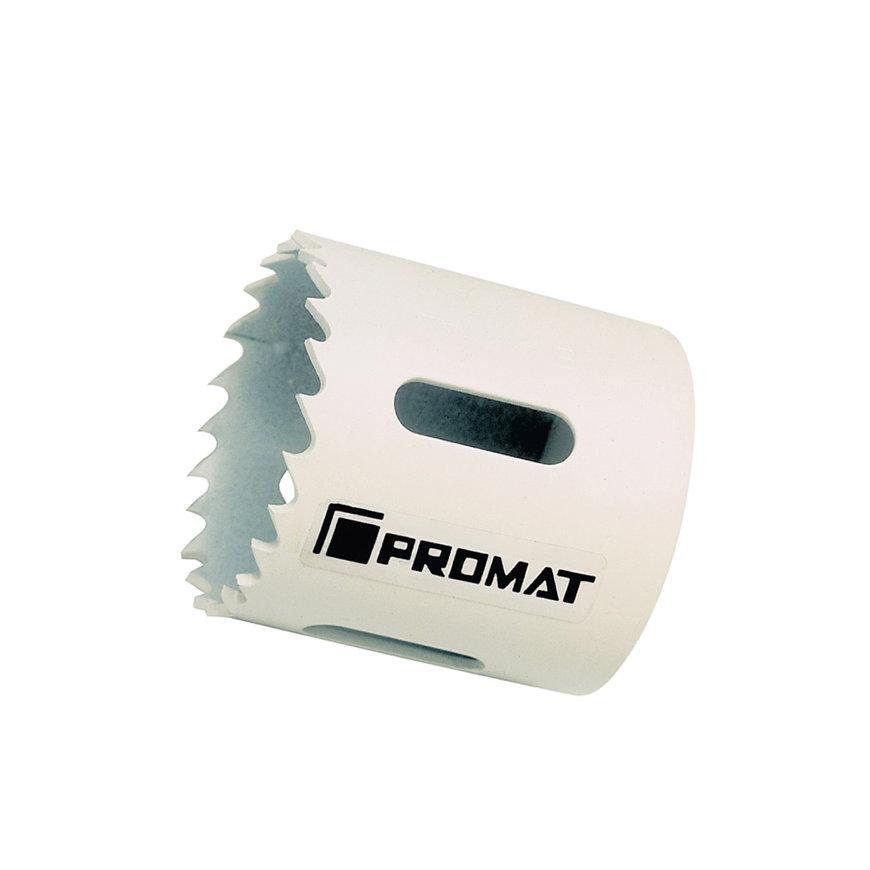 Promat gatenzaag, HSS-bimetaal, zonder opnameschacht, snijdiepte 38 mm, zaagdiameter 70 mm