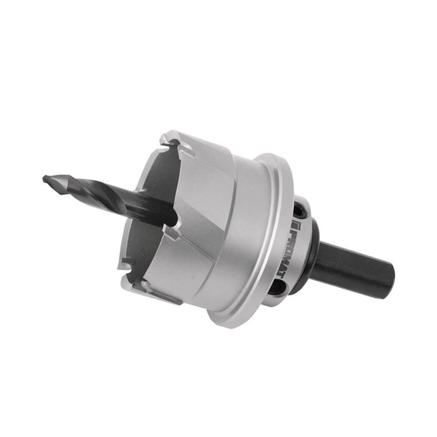 Promat gatenzaag, HM, incl. boor en uitwerpveer, multigrade, snijdiepte 20 mm, zaagdiameter 18 mm