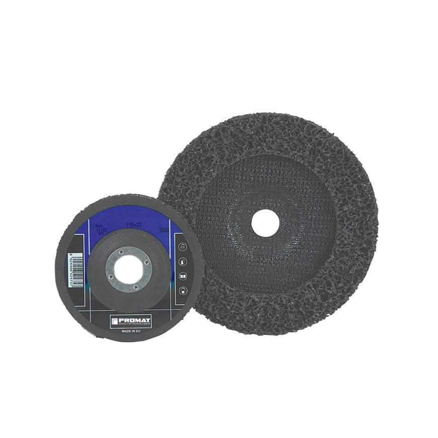 Promat reinigingsschijf, Ø 125 x 22 mm, grof, boorgat 22,23 mm