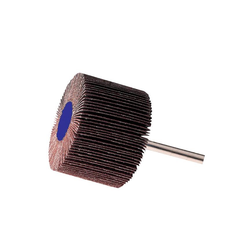 Promat lamellenslijpstift, korund, schacht 6 mm, D50 x H30 mm, korrel 60