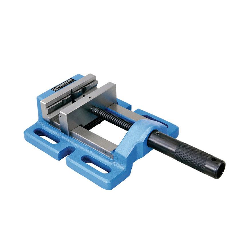 Promat machinebankschroef, bekbreedte 120 mm, spanwijdte 110 mm, sleufafstand 150 mm