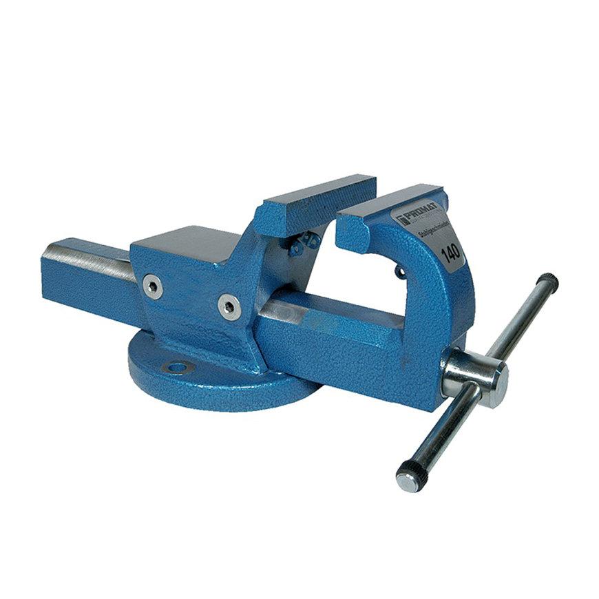 Promat parallelbankschroef, gesmeed, bekbreedte 180 mm, spanwijdte 225 mm, spandiepte 118 mm