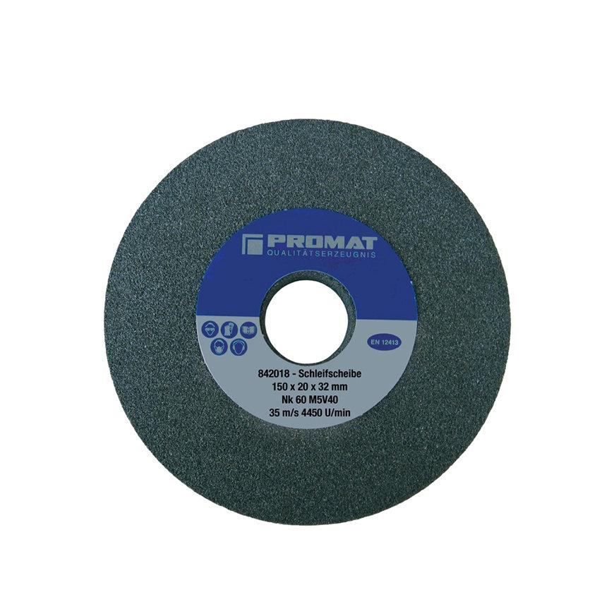 Promat slijpmachineschijf, normale korund, vorm A, d = 200 mm, b = 25 mm, gat 51 mm, grof 36