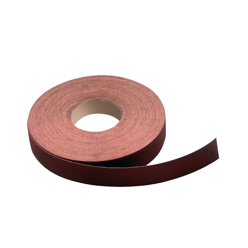 Promat slijpweefselrol, 115 mm, korrel 180, korund, voor metaal