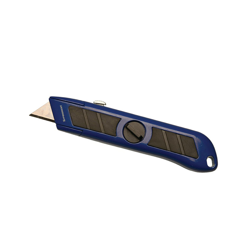 Promat universeel mes, uitschuifbaar, inclusief 1 trapeziummes, l = 158 mm