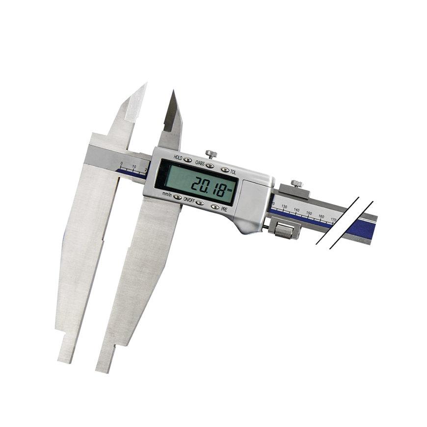 Promat schuifmaat, digitaal, beklengte 150 mm, meetbereik 800 mm