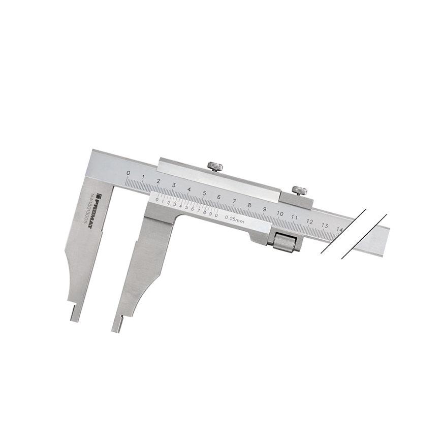 Promat schuifmaat, DIN862, Snavell, beklengte 90 mm, meetbereik 300 mm
