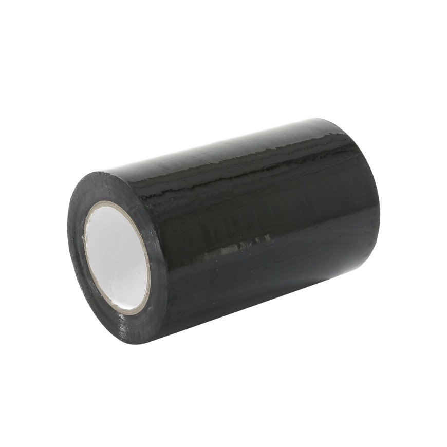 Stokvis pvc isolatietape, b = 100 mm, l = 10 m, zwart, per rol