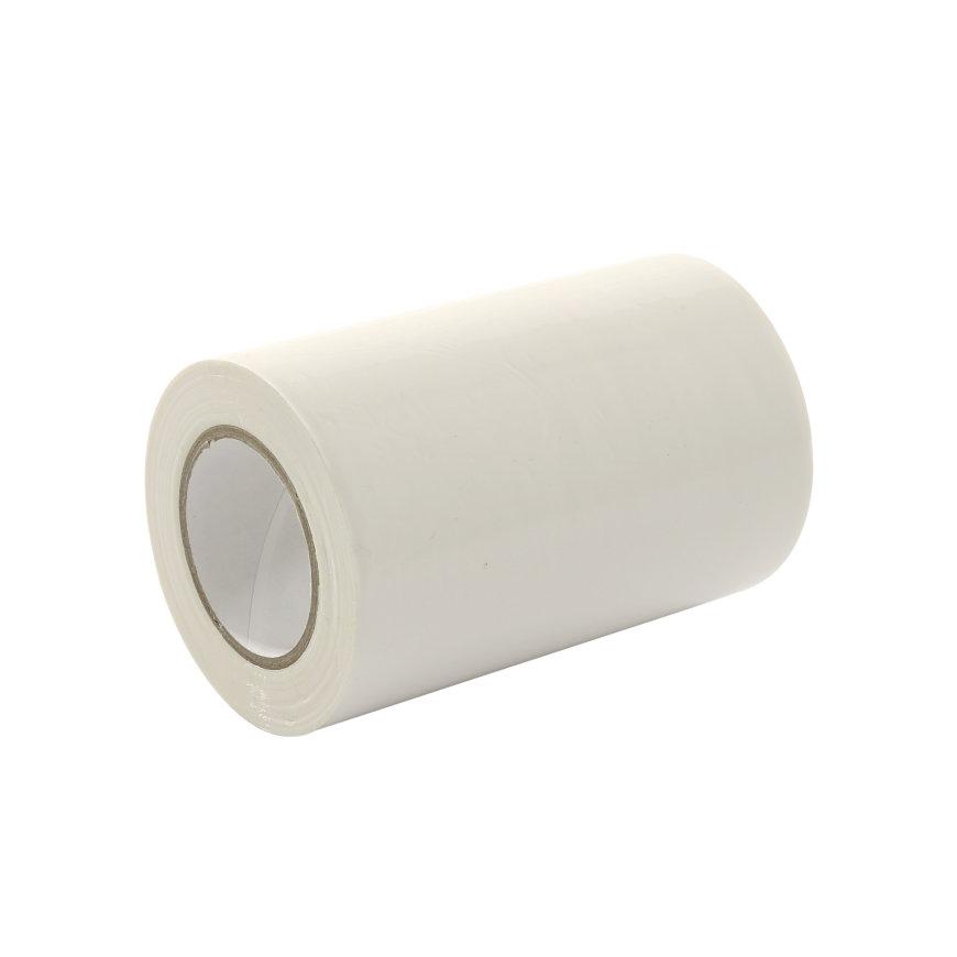 Stokvis pvc isolatietape, b = 100 mm, l = 10 m, wit, per rol