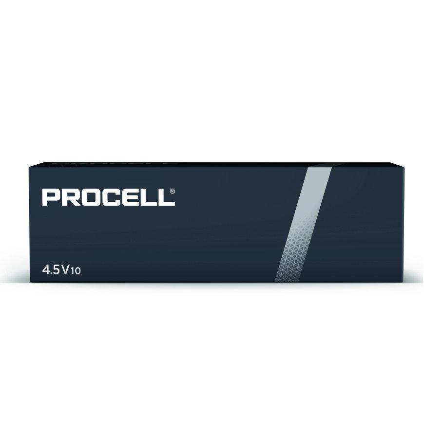 Duracell Procell alkaline batterij, 4,5V-block, doos à 10 stuks