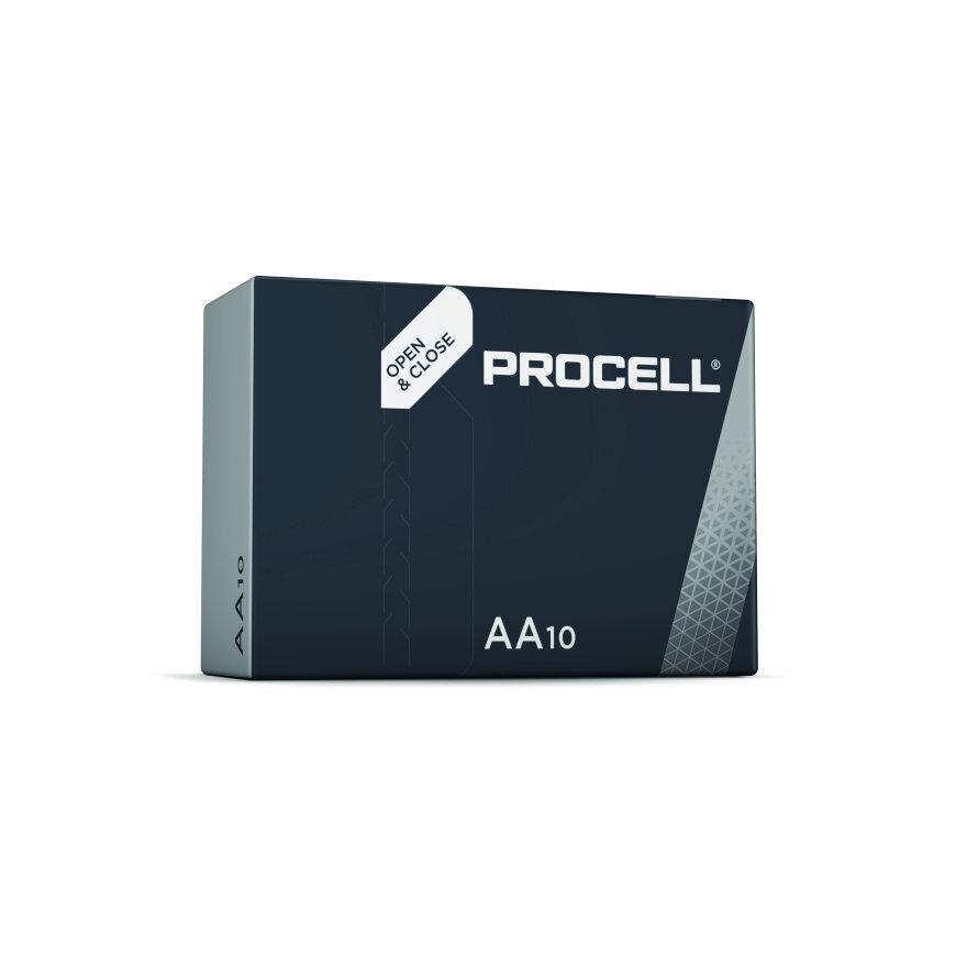 Duracell Procell alkaline batterij, Penlite/AA, doos à 10 stuks