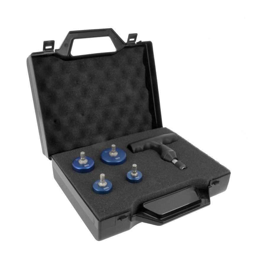 Bonfix Alu-pers kalibratie set, 16 - 20 - 26 - 32 mm