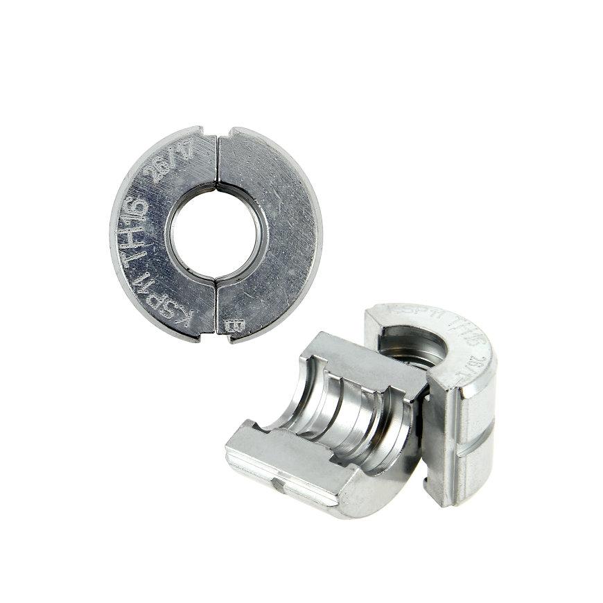 Bonfix Alu-pers insert voor losse persbek, TH-profiel, 25 mm