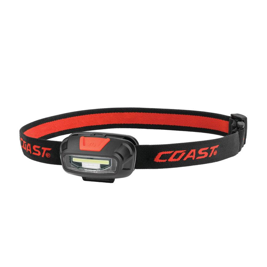 Coast LED hoofdlamp, oplaadbare 2x Li-ion, 2x AAA, 270 Lumen, blister à 1 stuks