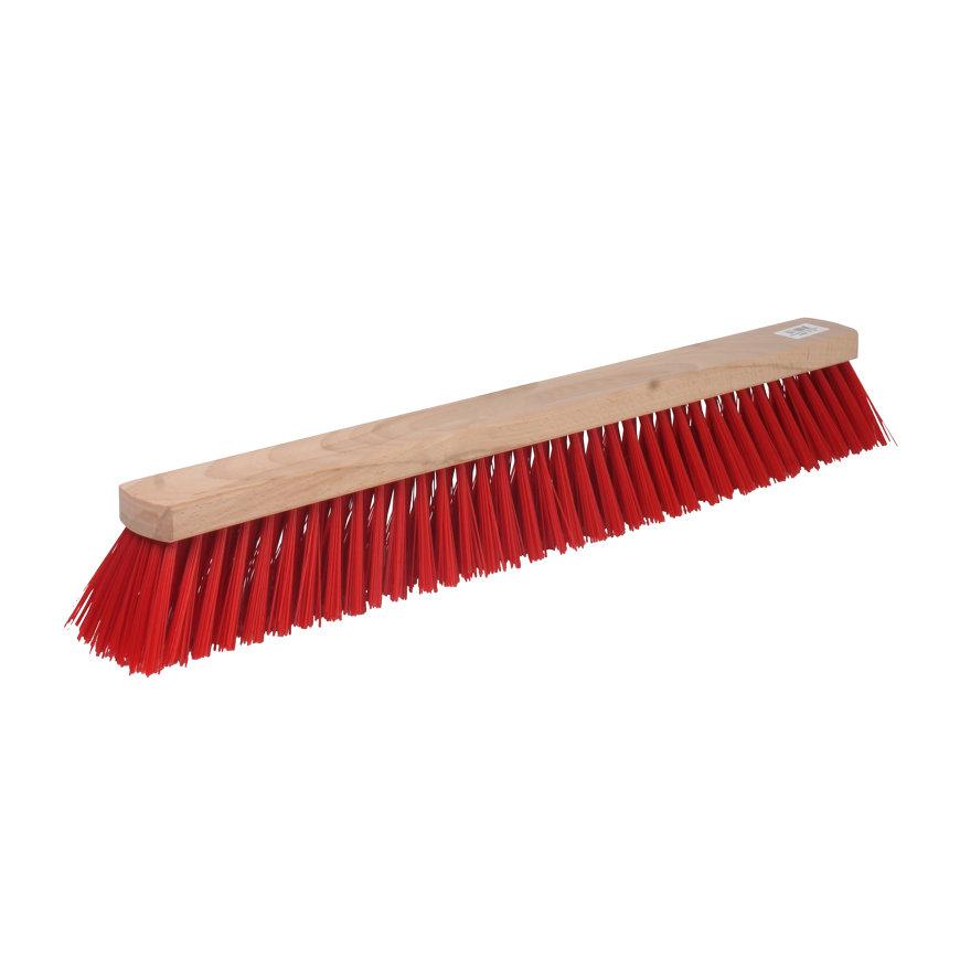 Talen Tools straatbezem, kunststof haren, 60 cm, excl steel