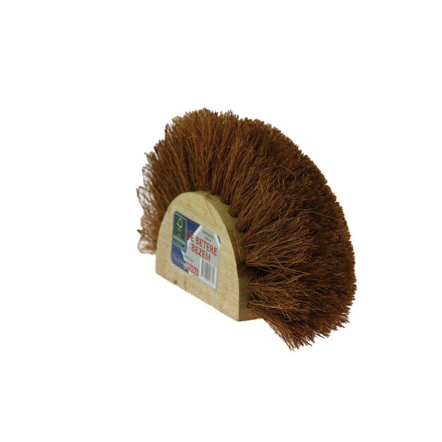 Talen Tools raagbol, breed 280 mm, kokos haren, excl steel