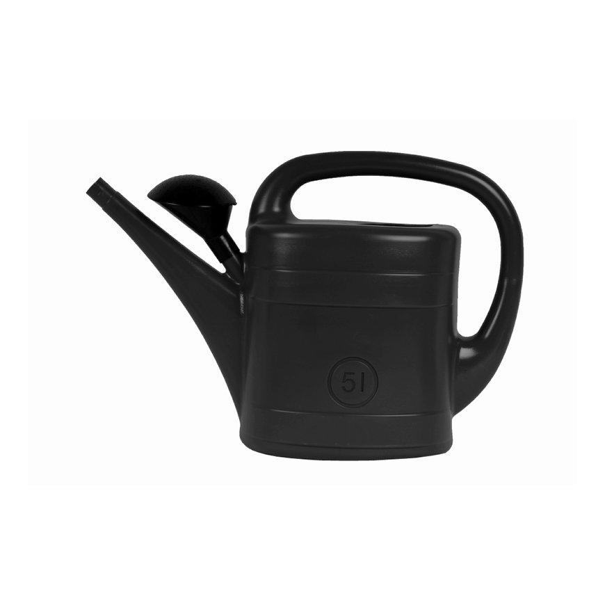 Gieter, zwart, 5 liter