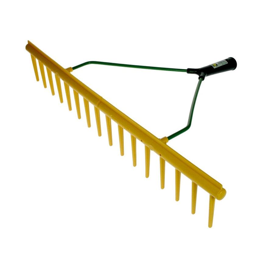 Talen Tools polyhark, recht, met rand, 16 tands, excl steel
