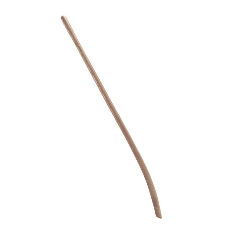 Talen Tools stalschopsteel, gewaxt essenhout, l = 130 cm