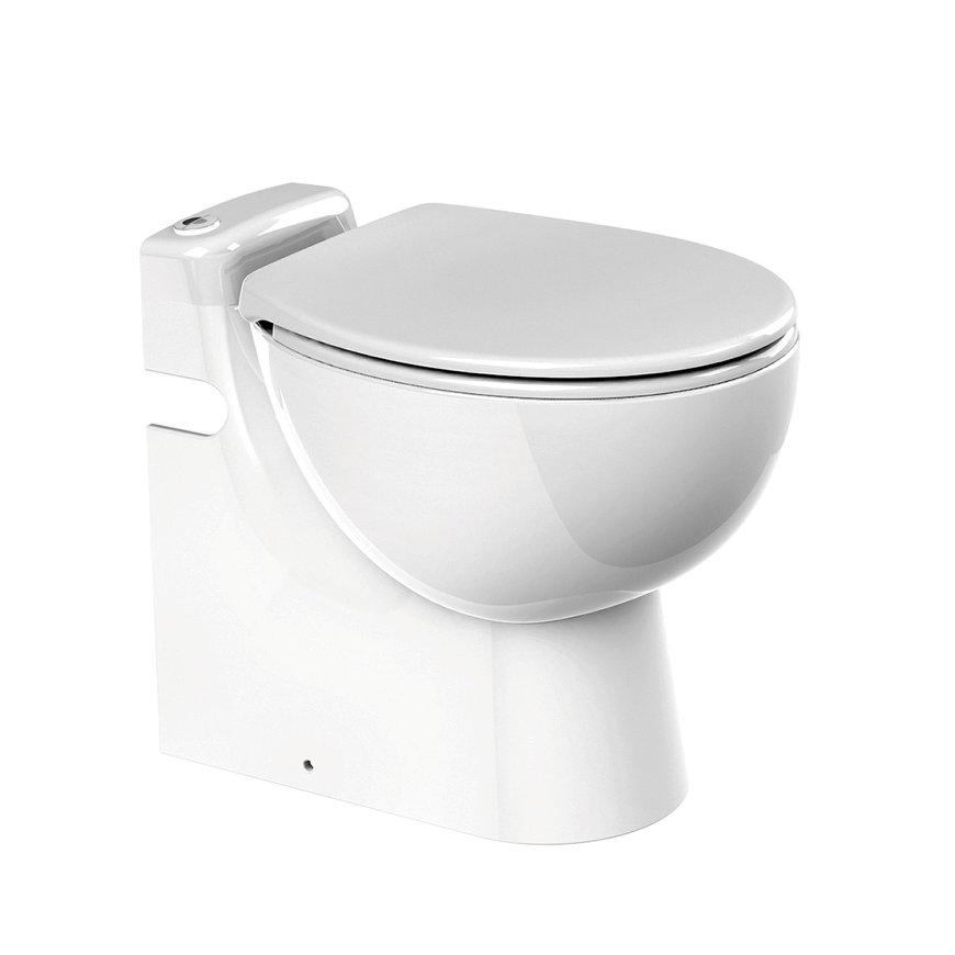 Sanibroyeur compact toilet, type Sanicompact® Pro C11, Eco+, wit