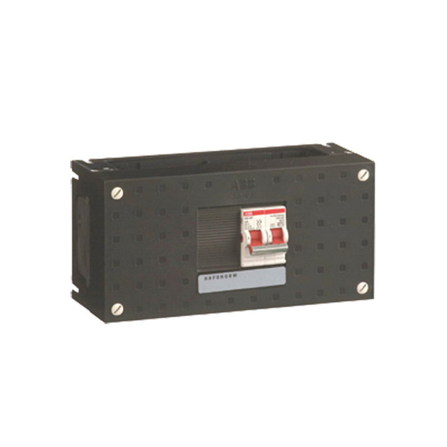 ABB hoofdschakelaar in schakelkast, 4-polig, type HS402, 40A, 110 x 220 mm