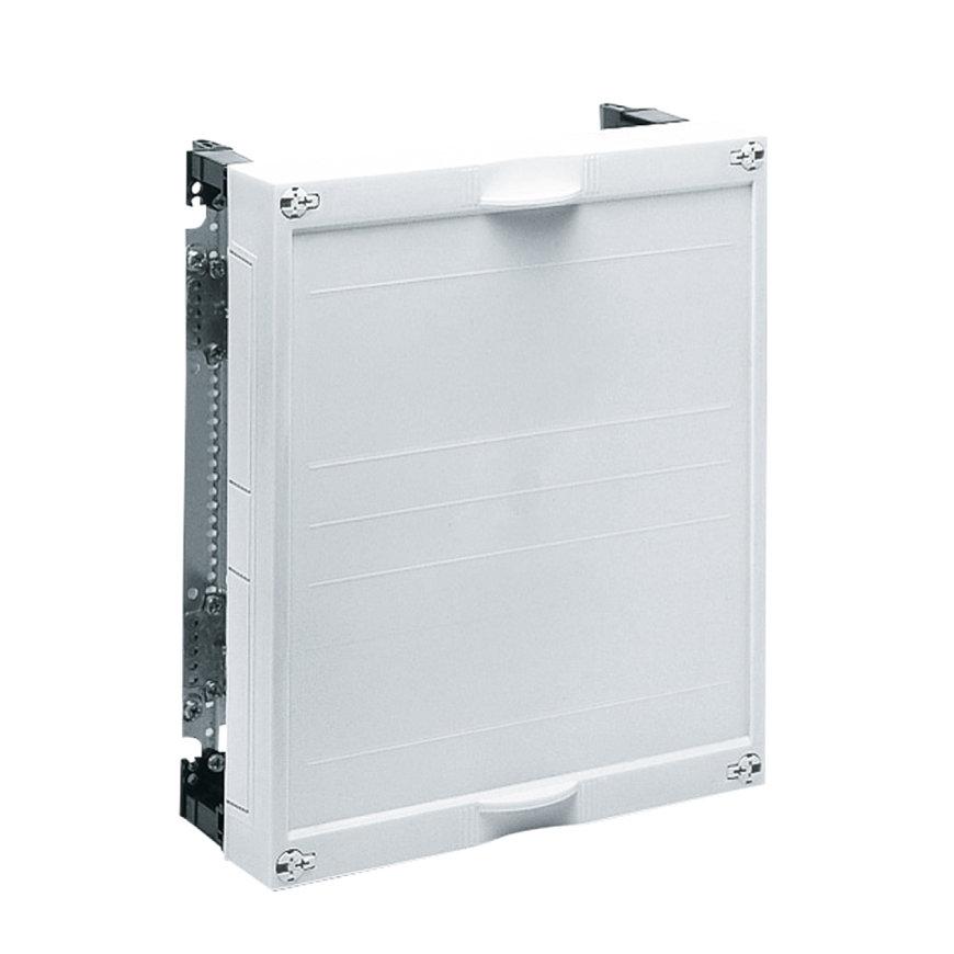Hager bouwsteen met montageplaat, ledig, 300 x 250 mm