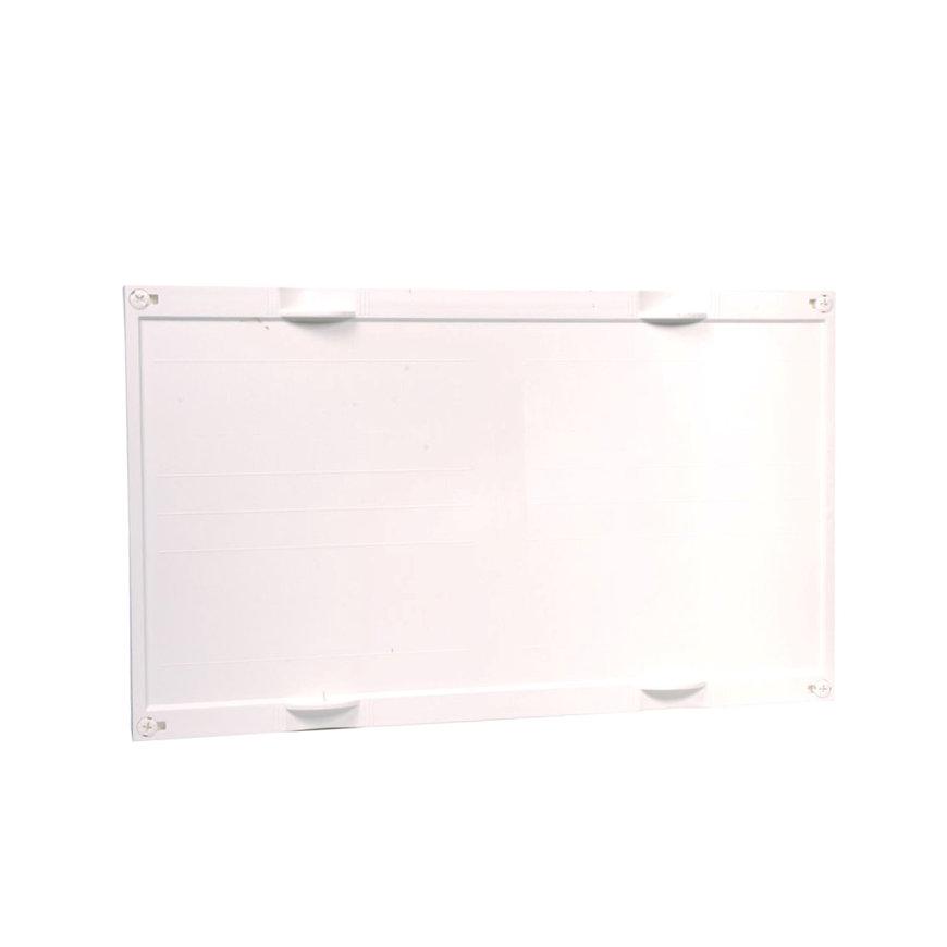 Hager gesloten DIN railunit, horizontaal, leeg, 300 x 500 mm