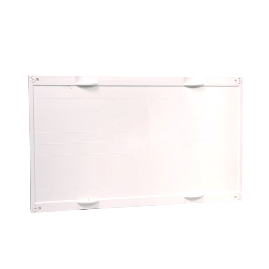 Hager gesloten DIN railunit, horizontaal, leeg, 450 x 750 mm