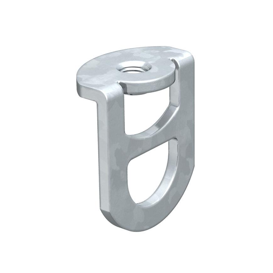OBO ophangoog, staal, galvanisch verzinkt, DIN EN 12329, M6