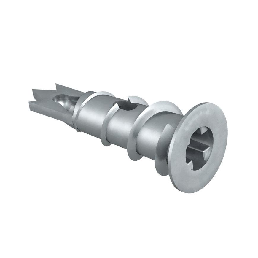 OBO gipsplaatplug, zinkpersgietsel, voor 12 mm gipskarton, 12 x 30 mm