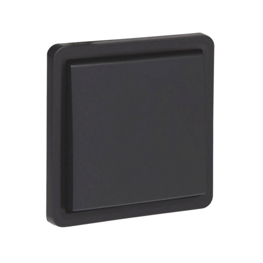 Niko New Hydro spwd wipschakelaar, excl opbouwdoos, zwart, 10 A/250 V, wissel