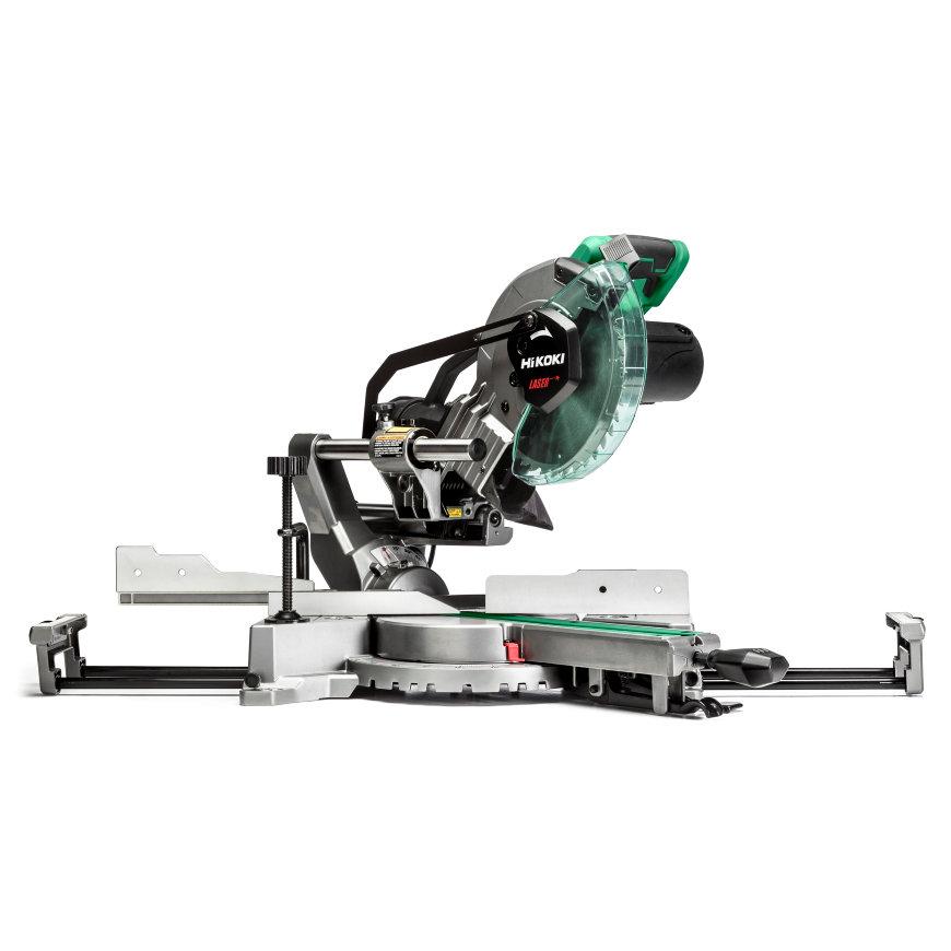 HiKOKI afkortzaag met laser, type C8FSHGWAZ, 230 V, 1100 W, 216 mm