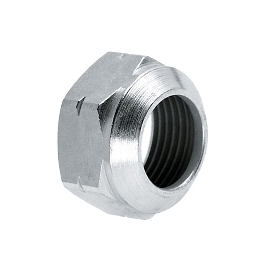 Anbo verzinkte afsluitmoer, voor verdeler, 17 - 15 mm
