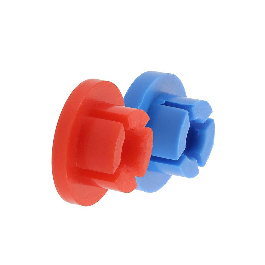 Bonfix dop voor wasmachinekraan, blauw
