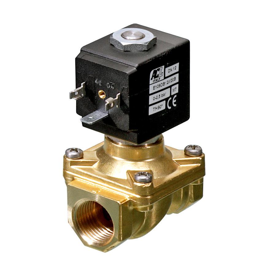 "Socla magneetafsluiter, type HK2, epdm, 2x binnendraad, 3/8"", NC, 24 V / DC, 15 W"