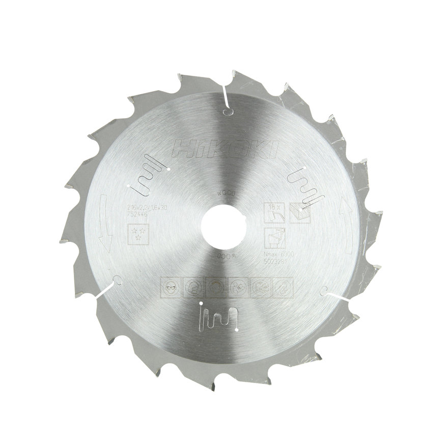 HiKOKI Proline cirkelzaagblad voor hout, 216 x 30 mm, 18 tanden