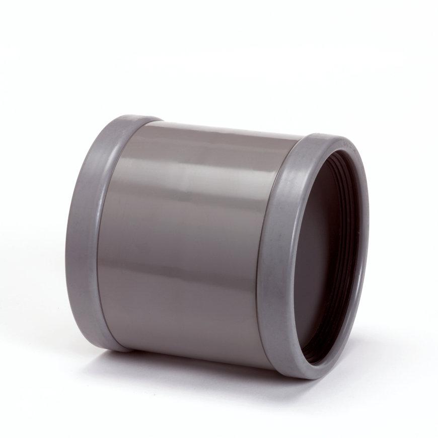 Wavin pvc mof, 2x flex manchet 3°, KOMO, SN8, 160 mm