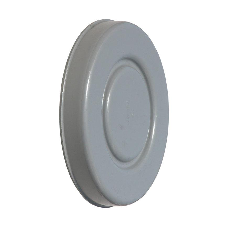 Afsluitkap, pvc, 1x inwendig lijm, 100 mm  default 870x870