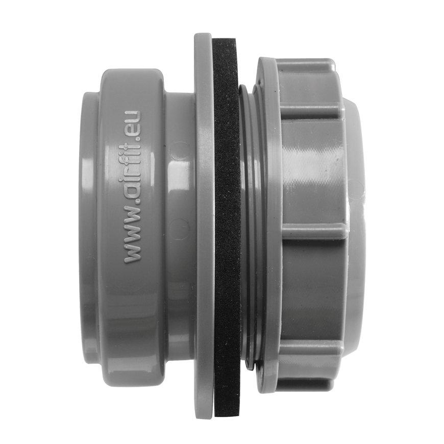 Airfit pp buisaansluiting t.b.v. reservoir, manchet, grijs, 50 mm