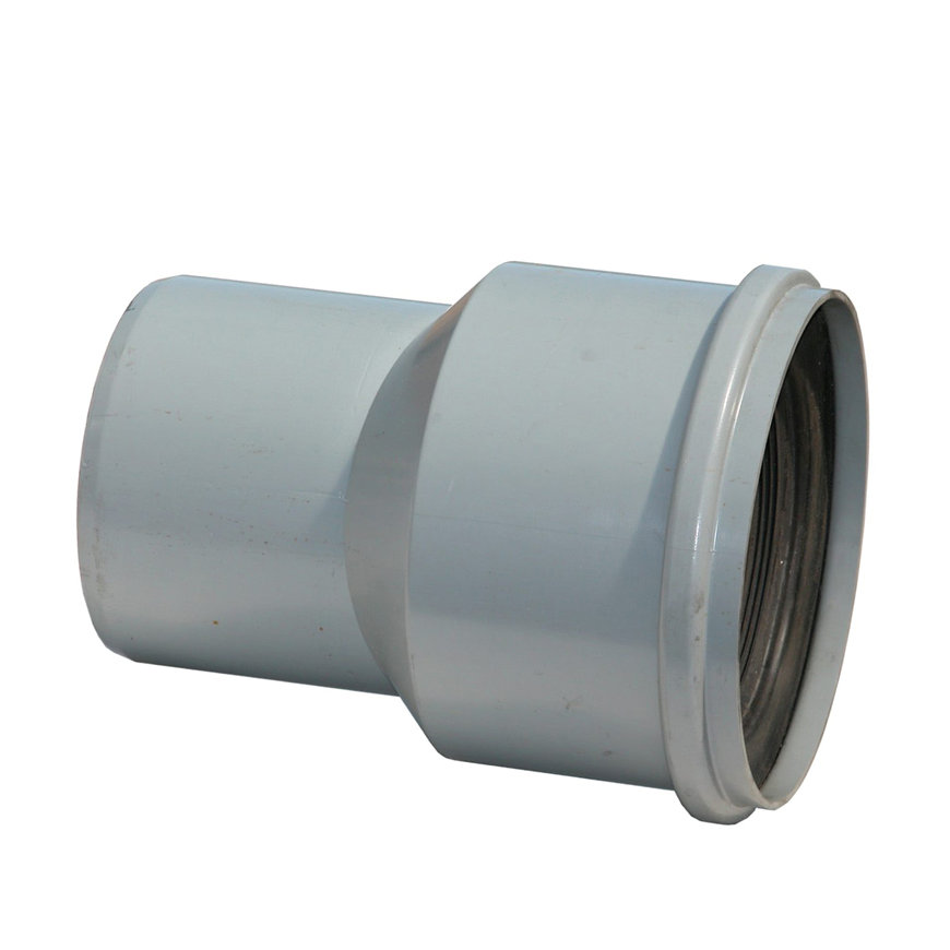 NP flexibel pvc huisaansluitstuk, 2x manchet, 125 mm