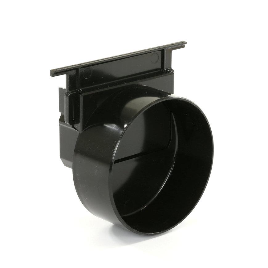 Nicoll eindkap, type Connecto 100, uitlaat 110 mm, zwart, voor art.nr. 254299 en 254338  default 870x870
