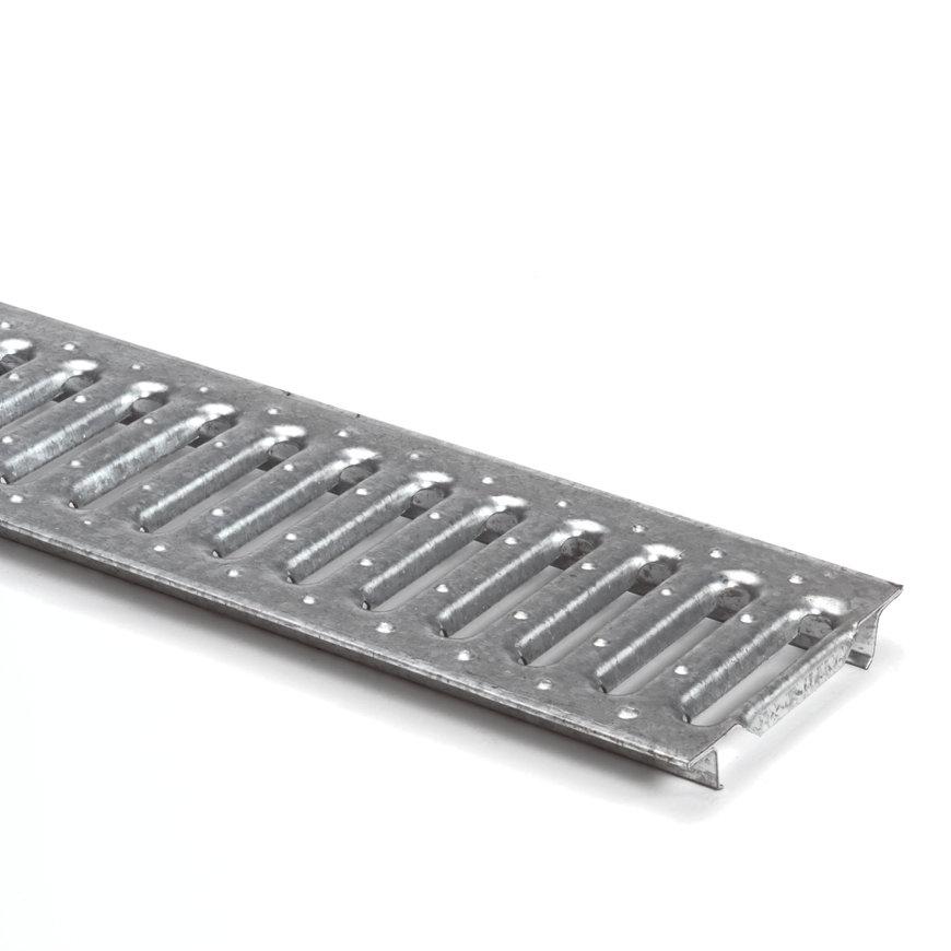 Anrin Verzinkter Stegrost für Entwässerungsrinne, Modell SELF-ECO, L=100cm