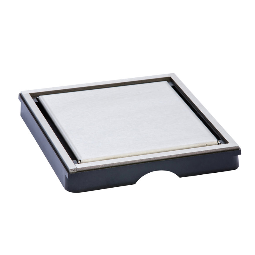 I-Drain Plano/Tile rooster t.b.v. Square 150 x 150 mm, omkeerbaar  default 870x870