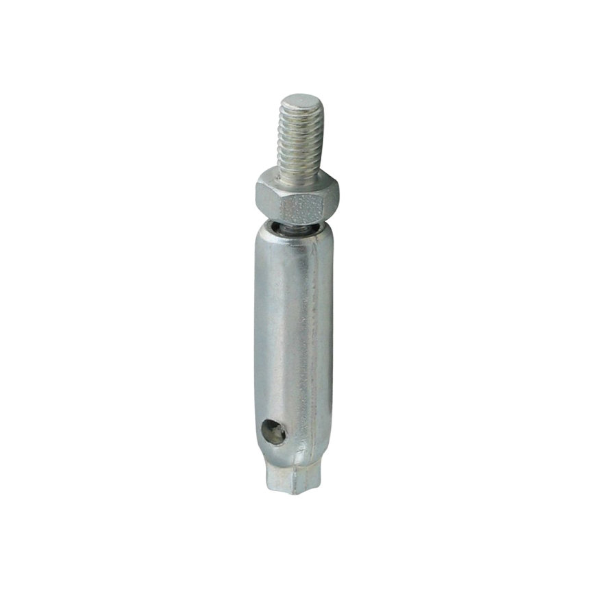 BIS kogelscharnier, elektrolytisch verzinkt, l = 90 mm, 2x M12